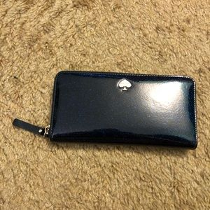 Kate Spade galaxy blue full size Wallet
